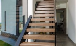 95 Cool Modern Staircase Designs For Homes (8)
