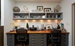 96 Modern Home Office Design Looks Elegant 64