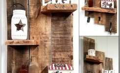 99 Fantastic Models Of Wooden Pallet Shelves For Your Woodworking Project Inspiration (1)