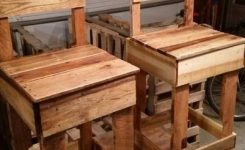 99 Fantastic Models Of Wooden Pallet Shelves For Your Woodworking Project Inspiration (18)