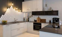 Beautifull Totally Modern Black And White Kitchen 57