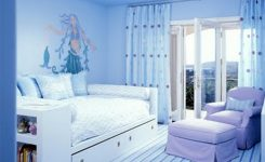 2 color room painting ideas blue