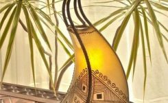 Breathtakingly Beautiful Moroccan Henna Lamps 31