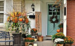 patio decorating ideas with flowers