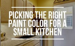 picking paint colors for kitchen