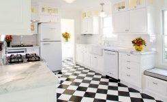 Tips For Creating Beautiful Black Or White Retro Themed Kitchens 25