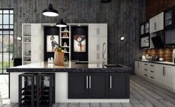 Tips For Creating Beautiful Black Or White Retro Themed Kitchens 27