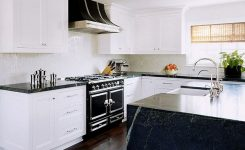 Tips For Creating Beautiful Black Or White Retro Themed Kitchens 65