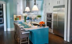 Tips For Creating Beautiful Black Or White Retro Themed Kitchens 68