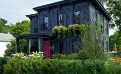 examples of exterior painted houses ideas
