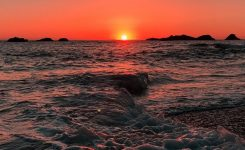 Amazing Beach Sunset android Wallpaper Wallpaper iPhone android On List Bright Colors Background