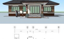 Amazing Perfect for Those A Bud 3 Bedroom Single Storey House On Simple Modern House Design