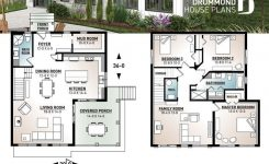 Amazing Ski Chalet House Plan Inverted Living and Panoramic View On Mountain Cabin House Plans