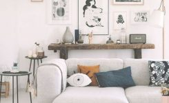 Appealing Gallery Wall Modern Eclectic Home Decor Decorating Accent On Modern Living Room Wall Art