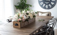 Appealing Luxury Farmhouse Kitchen Table Centerpieces – the Most On Living Room Table Centerpieces