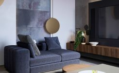 Appealing Modern Apartment In Moscow On Living Room Furniture Design Photos