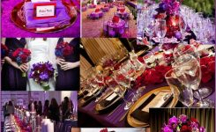 Appealing Red and Purple Wedding Ideas On Red Wedding Decor Ideas