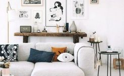 Artistic 23 Cool Black and White Wall Gallery Decorating Ideas for On Living Room Wall Decor Over Couch