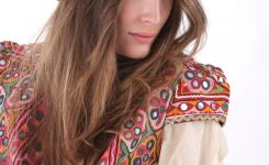 Artistic Festival Hut Melone Weinrot On Bohemian Style Clothing for Women