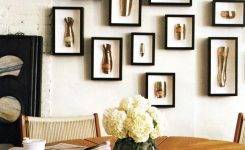 Artistic Framed Artifacts On Living Room Decor Gallery