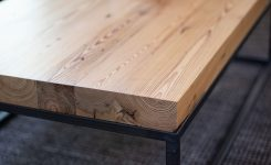 Artistic Heart Pine Mill Plank Coffee Table On 72 Inch Long Coffee Tables