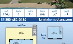 Awe-inspiring Coastal Style House Plan with 3 Bed 4 Bath On Mountain Home Plans Sloping Lot