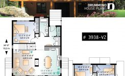 Awe-inspiring Discover the Plan 3938 V2 Skylark 3 which Will Please You On Small Mountain House Plans