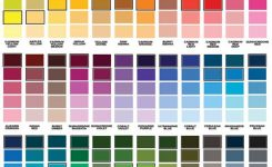 color charts for painting walls