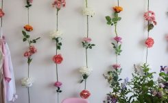 Beaut 20 Outstanding Diy Flower Wall Decoration Ideas for You to On Cute Crafts to Decorate Your Room