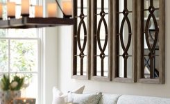 Beauteous Decorating with Architectural Mirrors On Cool Wall Art for Living Room Ideas