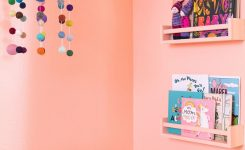 Beauteous Pop Bright Coral Pink Paint Color Clare On Bright Wall Colors