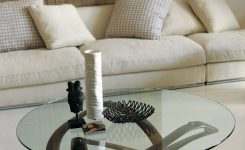 Beauteous Porada Infinity Glass Coffee Table On 36 Round Glass Coffee Table