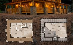 Beauteous Save $15 000 On the Mountain View Lodge On Mountain Cabin House Plans