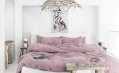 Beauteous Turn Your Bedroom Into A Calming Sanctuary with soft On Boho Farmhouse Bedding