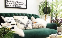 Charming A Mix Of Mid Century Modern Bohemian and Industrial On Boho Chic Couch