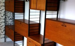 Charming Staples Ladderax Retro Shelving System In Home Furniture On Ebay Sell Furniture