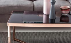 Comely Einfach Traumhaft Finebuy Design Couchtisch In Roségold Und On Contemporary Coffee Tables Ultra Modern