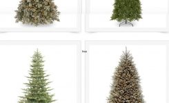 Comely Over 40 Affordable and Gorgeous Artificial Christmas Trees On Artificial Christmas Trees