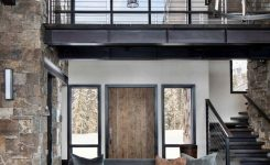 Contemporary mountain home floor plans luxury incredible mountain modern dwelling offers slope side living in