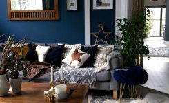 Decorative 14 Dark Color Scheme for Scandinavian Living Rooms Ideas On Boho Living Room Decor On A Budget Ideas Colour Walls Ideas