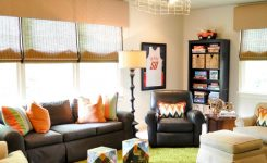 Delightful Colorful Living Room with Green Shag Carpet On Living Room Decor Game