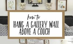 Engaging How to Hang A Gallery Wall A Couch by Yourself On Living Room Wall Decor Over Couch