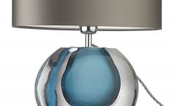 Engaging Lamp Lamps Blue Lamp Blue Lamps On Table Lamps for Living Room