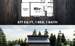 Engaging Modern Cabin Plan On Modern Cabin Plans