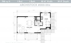 Engaging Small Modern Cabin House Plan with A Loft Bedroom On Cabin House Plans with Loft