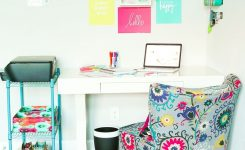 Exquisite Pop Of Color Home Fice Ideas On Home Office Decor