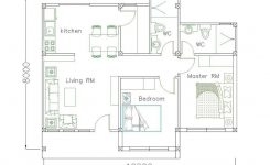 Exquisite Simple Home Design Plan 10x8m with 2 Bedrooms On Simple Modern House Design