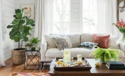 Exquisite the Magnolia Home by Joanna Gaines Brushstroke Bi 04 Silver On Boho Farmhouse Style