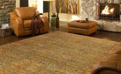 Fanciable Rugsville Traditional Wool Green & Light Gold Rug 9×12 On Rugs for Living Room 9×12