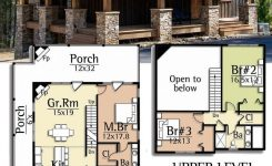 Impressive Plan Ck 5 Bed Mountain Cottage On A Walkout Basement On Rustic Mountain House Plans with Walkout Basement